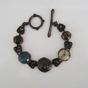 Lucky Brand Vintage Styled Toggle Bracelet